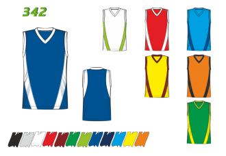 Баскетбольная майка 342